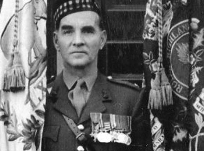 Major Albert Ward MBE MM
