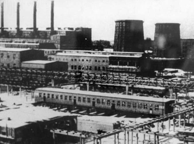 Auschwitz III Monowitz - IG Farben chemical plant