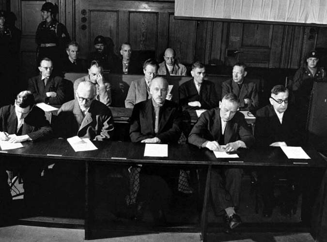 WWII war crimes trials: 1947 IG Farben defendants