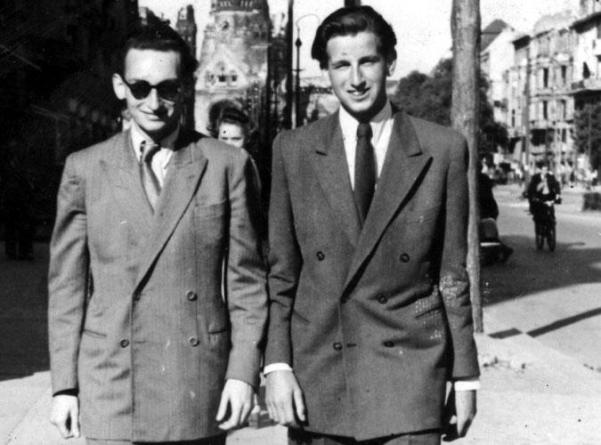 Lothar Besch & Joachim Nave 1940s Berlin