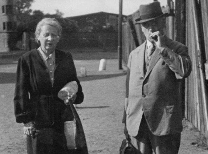 Erwin Haase and Auguste Haase