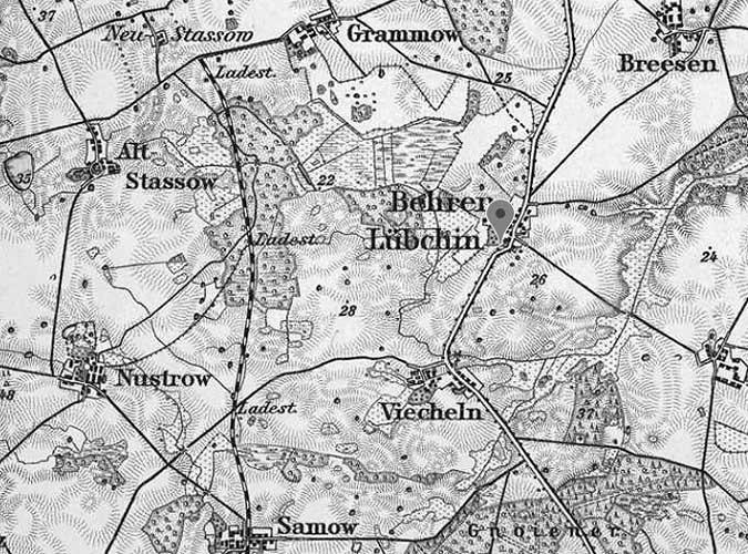 Vicheln / Viecheln - Behren und Lubchin, Mecklenburg